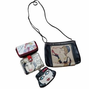 Brighton fashionista set wallets and bag